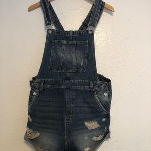 H&M Overall Shorts Size 12